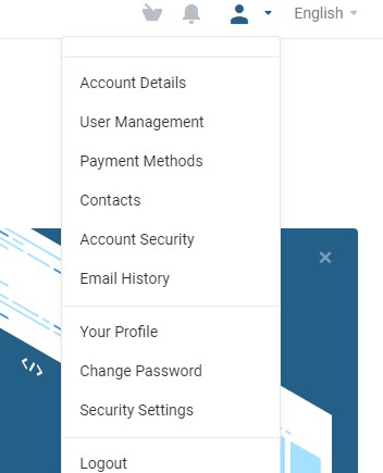 How to update your personal details in the client portal ?